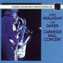 Gerry Mulligan & Chet Baker: Carnegie Hall Concert, CD