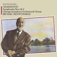 Charles Ives (1874-1954): Symphonien Nr.1 & 4, CD