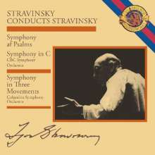 Igor Strawinsky (1882-1971): Strawinsky conducts Strawinsky, CD