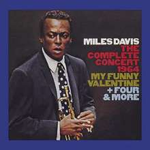 Miles Davis (1926-1991): The Complete Concert 1964: My Funny Valentine + Four & More, 2 CDs