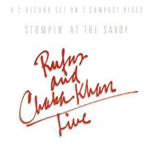 Rufus Featuring Chaka Khan: Stompin' At The Savoy, 2 CDs
