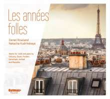 Daniel Rowland & Natacha Kudritskaya - Les Annees Folles, CD