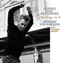 Ludwig van Beethoven (1770-1827): Symphonie Nr.4 (180g), LP