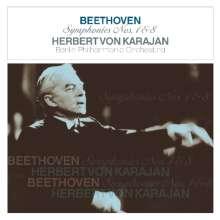 Ludwig van Beethoven (1770-1827): Symphonien Nr.1 & 8 (180g), LP