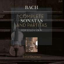 Johann Sebastian Bach (1685-1750): Sonaten & Partiten für Violine BWV 1001-1006 (180g), 2 LPs