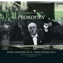 Serge Prokofieff (1891-1953): Klavierkonzert Nr.5 (180g), LP