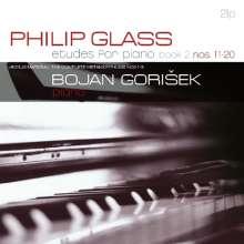 Philip Glass (geb. 1937): Etüden für Klavier Nr.11-20 (180g), 2 LPs