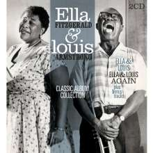 Louis Armstrong & Ella Fitzgerald: Classic Album Collection, 2 CDs