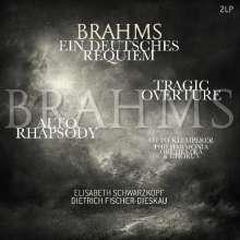 Johannes Brahms (1833-1897): Ein Deutsches Requiem op.45 (180g), 2 LPs