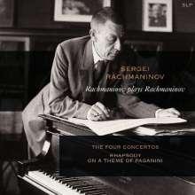 Sergej Rachmaninoff (1873-1943): Rachmaninoff plays Rachmaninoff (180g), 3 LPs