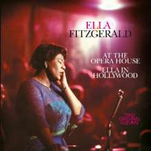 Ella Fitzgerald (1917-1996): At The Opera House / In Hollywood, CD