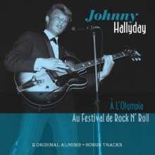 Johnny Hallyday: A L'Olympia: Au Festival De Rock'n'Roll, CD