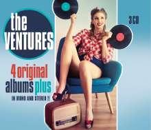 The Ventures: 4 Original Albums Plus, 3 CDs