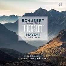 """Franz Schubert (1797-1828): Symphonie Nr.9  C-Dur """"Die Große"""" (180g), 2 LPs"""