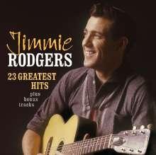 Jimmie Rodgers: 23 Greatest Hits + Bonustracks, CD