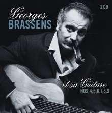 George Brassens (1921-1981): Et Sa Guitare Nos. 4, 5, 6,7, 8, 9, 2 CDs
