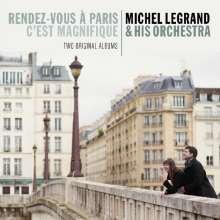 Michel Legrand (1932-2019): Rendez-Vous A Paris / C'est Magnifique, CD