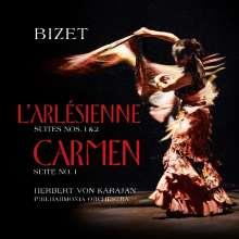 Georges Bizet (1838-1875): L'Arlesienne-Suiten Nr.1 & 2 (180g), LP