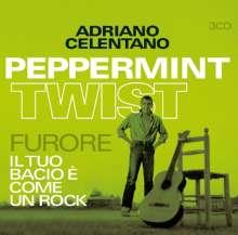 Adriano Celentano: Peppermint Twist / Furore / Il Tuo Bacio E Come Un Rock, 3 CDs