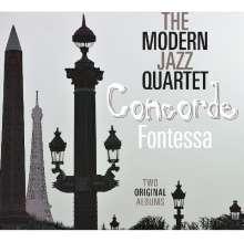 The Modern Jazz Quartet: Concorde / Fontessa, CD