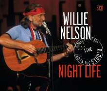 Willie Nelson: Night Life / Live And Int The Studio, 3 CDs