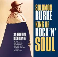 Solomon Burke: King Of Rock'n'Soul: 31 Recordings, CD