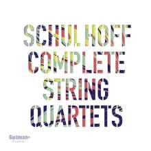 Erwin Schulhoff (1894-1942): Streichquartette Nr.0-2, 2 CDs