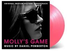 Daniel Pemberton: Filmmusik: Molly's Game (O.S.T.) (180g) (Limited-Numbered-Edition) (Pink Vinyl), LP