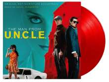Filmmusik: The Man From U.N.C.L.E. (180g) (Limited-Numbered-Edition) (Red Vinyl), 2 LPs