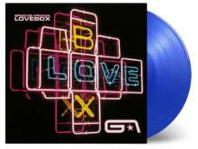 Groove Armada: Lovebox (180g) (Limited-Numbered-Edition) (Translucent Blue Vinyl), 2 LPs