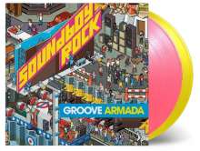Groove Armada: Soundboy Rock (180g) (Limited-Numbered-Edition) (Pink & Yellow Vinyl), 2 LPs