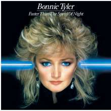 Bonnie Tyler: Faster Than The Speed Of Night (180g) (Limited-Numbered-Edition) (Translucent Blue Vinyl), LP