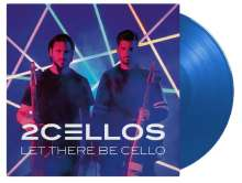 2 Cellos (Luka Sulic & Stjepan Hauser): Let There Be Cello (180g) (Limited-Numbered-Edition) (Translucent Blue Vinyl), LP