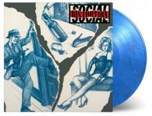 Social Distortion: Social Distortion (180g) (Limited-Numbered-Edition) (Blue/Silver Swirled Vinyl), LP