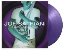 Joe Satriani: Is There Love In Space? (180g) (Limited Numbered Edition) (Solid Purple Vinyl), 2 LPs