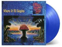 The Allman Brothers Band: Where It All Begins (180g) (Limited-Numbered-Edition) (Translucent Blue Vinyl), 2 LPs