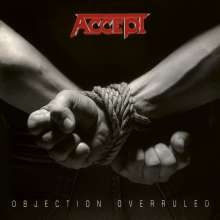 Accept: Objection Overruled (180g) (Limited Numbered Edition) (Silver & Black Swirled Vinyl), LP