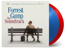 Filmmusik: Forrest Gump (25th Anniversary) (180g) (Limited-Numbered-Edition) (Translucent Red & Blue Vinyl), 2 LPs