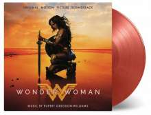 Filmmusik: Wonder Woman (180g) (Limited Numbered Edition) (Red & Gold Marbled Vinyl), 2 LPs