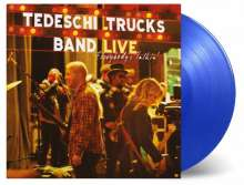 Tedeschi Trucks Band: Everybody's Talkin' - Live (180g) (Limited Numered Edition) (Blue Vinyl), 3 LPs