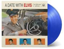 Elvis Presley (1935-1977): A Date With Elvis (180g) (Limited Numberd Edition) (Transparent Blue Vinyl), LP