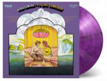 Nina Simone (1933-2003): To Love Somebody (180g) (Limited Numbered Edition) (Purple & Black Marbled Vinyl), LP