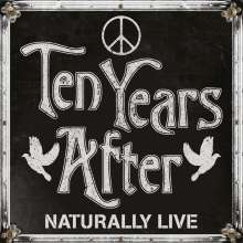 Ten Years After: Naturally Live (180g) (Limited Numbered Edition) (Silver Vinyl), 2 LPs