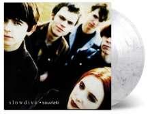 Slowdive: Souvlaki (180g) (Limited Numbered Edition) (Transparent & Black Swirled Vinyl), LP