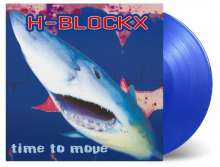 H-Blockx: Time To Move (180g) (Limited Numbered Edition) (Transparent Blue Vinyl), LP