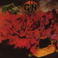 Gun (Scotland): Gun (180g) (Limited Numbered Edition) (Red & Silver Marbled Vinyl), LP