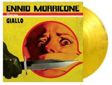 Ennio Morricone (1928-2020): Filmmusik: Giallo (180g) (Limited Numbered Edition) (Giallo & Black Marbled Vinyl), 2 LPs
