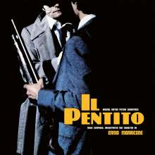 Ennio Morricone (1928-2020): Filmmusik: Il Pentito (The Repenter) (O.S.T.) (180g) (Limited Numbered Edition) (Silver & Black Marbled Vinyl), LP