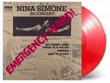 Nina Simone (1933-2003): Emergency Ward (180g) (Limited Numbered Edition) (Translucent Red Vinyl), LP