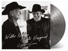 Willie Nelson & Merle Haggard: Django And Jimmie (180g) (Limited Numbered Edition) (Silver & Black Marbled Vinyl), 2 LPs